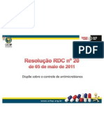 RDC2011 Antibiticos