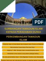 Minggu 4 - Sumbangan Tamadun Islam Kepada Peradaban Dunia