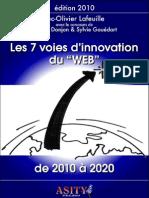 7 voies d'innovation du Web de 2010 à 2020
