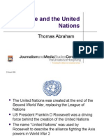 War Peace and the United Nations