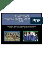 Edit Laporan Pelaksanaan PIGP Mei 2011