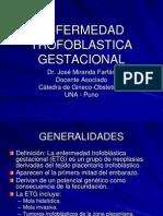 Enfermedad Trofoblastica Dr Miranda