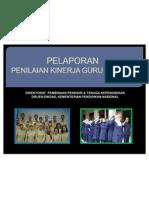 Laporan Kinerja Guru Pemula Mei 2011