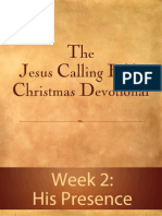 Jesus Calling Bible Christmas Devotional - Week 2