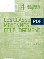 Les classes moyennes et le logement - Julien Damon
