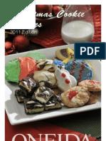 Oneida's Christmas Cookie Recipes