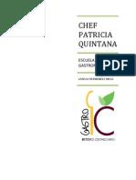 Chef Paty Quintana
