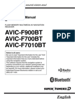 Pioneer AVIC F700BT_usermanual
