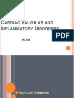 Cardiac Valvular and Inflammatory Disease - Student