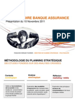 """KM Observatoire Banque Assurance """"10 Novembre 2011"""""""