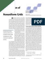 Visualization of Structured Nonuniform Grids