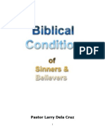 Biblical Condition of Sinners and Believers