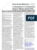 December 3, 2011 - The Federal Crimes Watch Daily