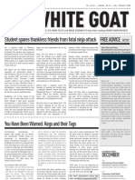 White Goat Vol1 Issue1