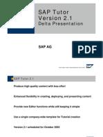 SAP Tutor 2.0-2.1 Delta