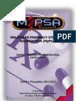 MyPSA Preambles 2011/2012