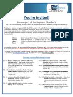 Academy Registration Flier