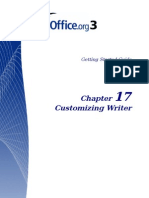 Customizing Writer