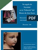 EL Museo de Arte Sacro Su Regalo de Navidad en La ''Libreria'' Del-Museo