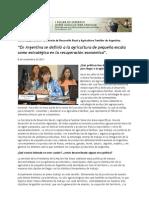 Agricultura de Pequana Escala en Argentina