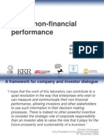 Valuing non-financial performance