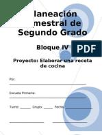 2do Grado - Bloque 4 - Proyecto 3