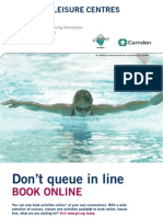 A Guide to Leisure Centres in Camden 2007-08