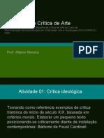 Exercícios de Crítica de Arte