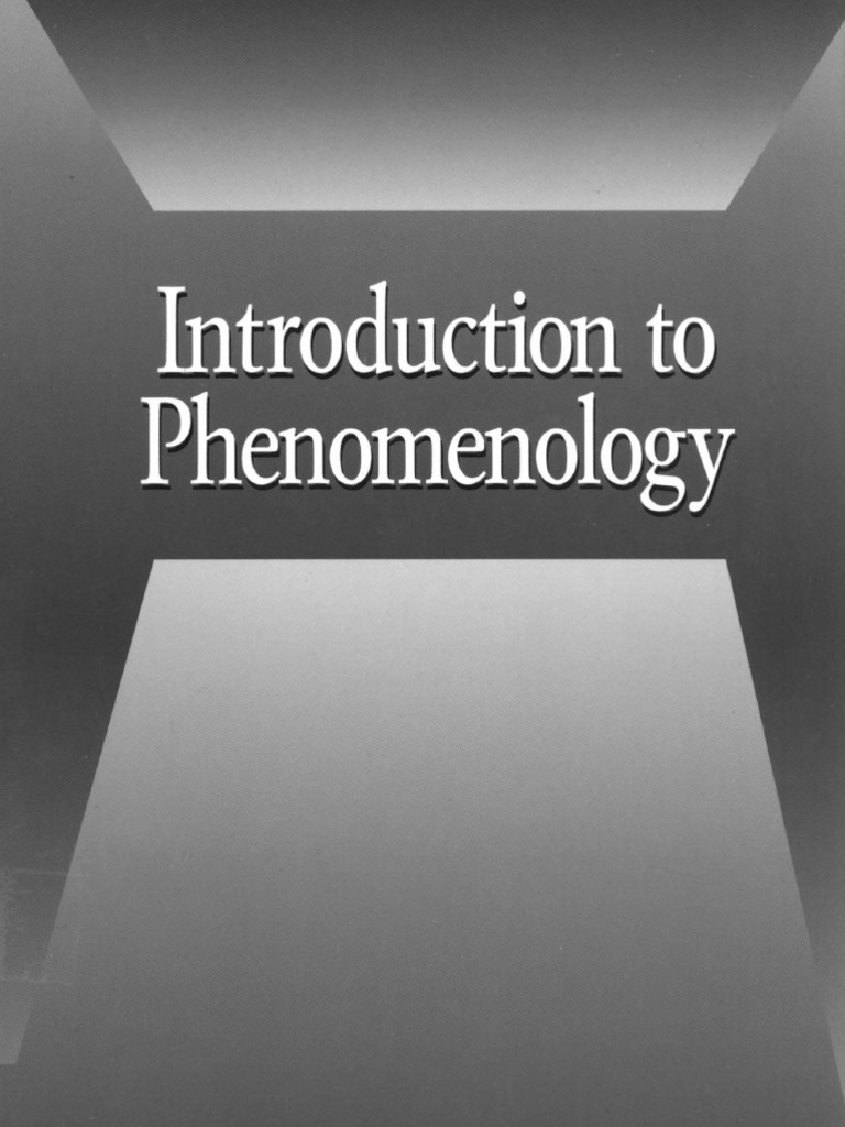 Sokolowski introduction to phenomenology phenomenology philosophy sokolowski introduction to phenomenology phenomenology philosophy consciousness fandeluxe Images
