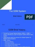 Csc 323 - 8 Gsm Architecture