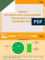 Estadisticas IMSS Septiembre 2011