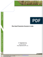 Rice Seed Production Scenario in India_0