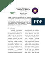 Tugas Konsep Teknologi Peranan Teknik Mesin Dalam Dunia Industri Indonesia