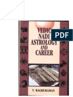 Vedic Nadi Astrology and Career