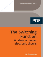 36435240 Switching Function Analysis of Power Electronic Circuits