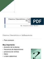 Diarrea Disentérica o Inflamatoria