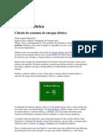 Física - Cálculo do consumo de energia elétrica