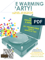 Office Warming Party Flyer