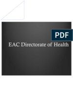 EAC Directorate of Health