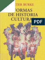 BURKE, Peter. Formas de Historia Cultural