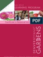 2012_Spring Botanical Illustration Distance Learning Program at  Denver Botanic Gardens