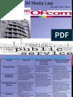 Ofcom Media Law