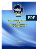 Institutional Racism & Religious Freedom in Malaysia
