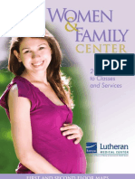 Women & Family Center - 2012 Guide to Classes and Services
