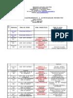 Planificare anuala 2011-2012