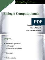 Biologie Computationala-scurt