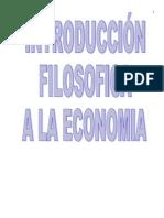 Introducción filisofica a la economia