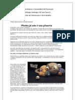 Plutão já não é Planeta