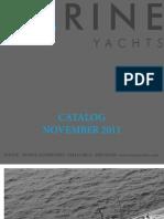 Carine Yachts - Yachts Brokerage - catalog November 2011