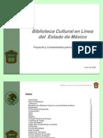 090630 Proyecto de Biblioteca Cultural en Linea Para El Estado de Mexico